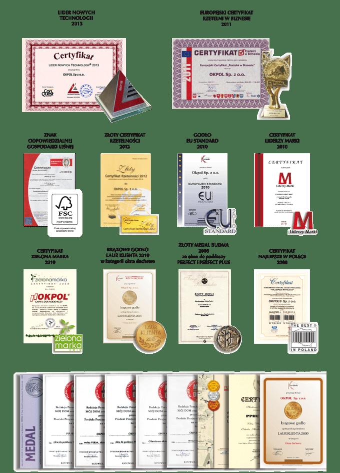certyfikaty okpol