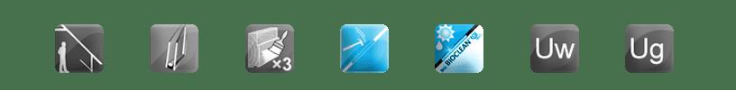 kolanko-2szyby-solid-hartowana-bioclean IKDU E2