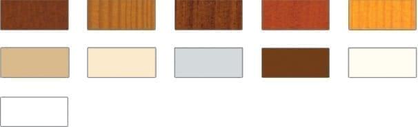 wzornik kolorów stolarki okien dachowych