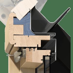 okna kolankowe OKPOL - stolarka IKDU E2