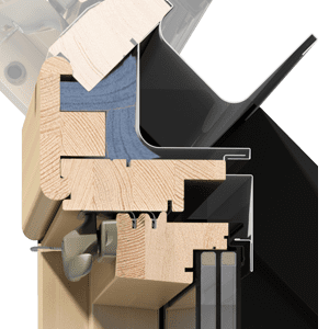 okna kolankowe OKPOL - stolarka IKDU I3