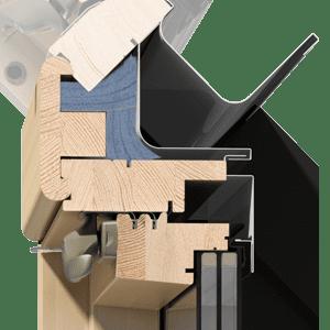 okna kolankowe OKPOL - stolarka IKDU I6