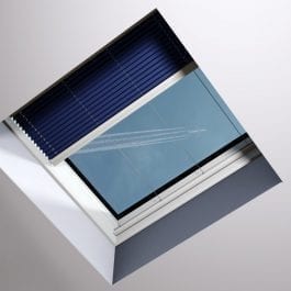 PGX-A1-z-roletą-265x265 Roleta plisowana P50E, P50K - do okien na dachu płaskim