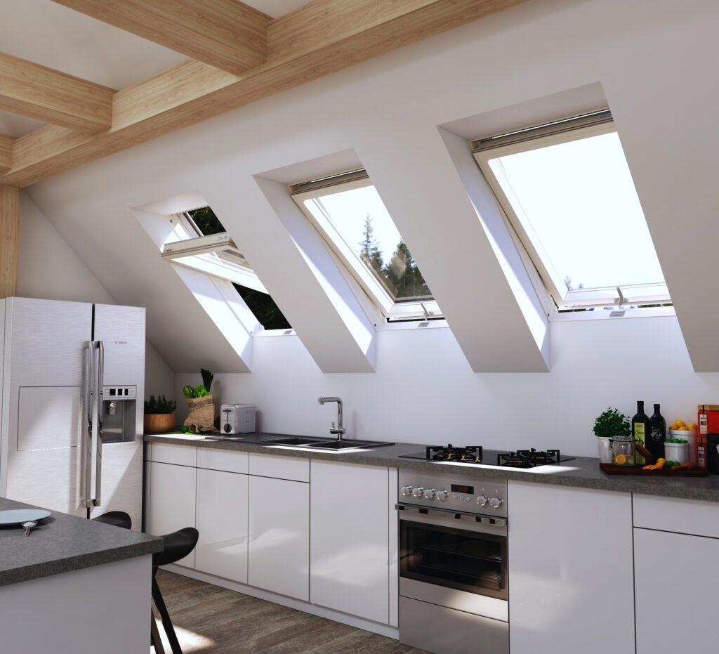 kuchnia_iso-1024x931 Aranżacja kuchni na poddaszu